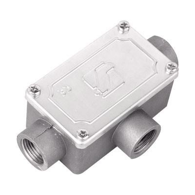 Коробка ответвительная алюминиевая, 3 ввода, М25х1,5 ,IP55,118х67х42мм