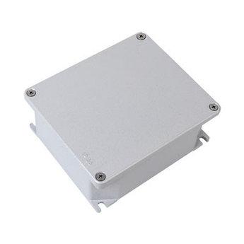 Коробка ответвительная алюминиевая окрашенная,IP66, RAL9006, 128х103х55мм