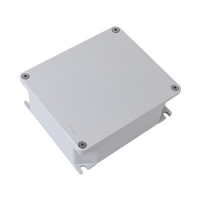Коробка ответвительная алюминиевая окрашенная,IP66, RAL9006, 154х129х58мм