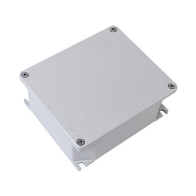 Коробка ответвительная алюминиевая окрашенная,IP66, RAL9006, 392х298х144мм