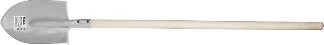 Лопата штыковая СИБИН 285х205х1420мм, черенок 1с