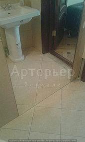 """Зеркало в ванную от компании """"Артерьер"""" (установка зеркал в помещениях) 4"""