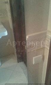 """Зеркало в ванную от компании """"Артерьер"""" (установка зеркал в помещениях) 5"""