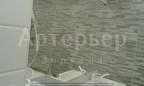 """Зеркало в ванную от компании """"Артерьер"""" (монтаж зеркал в помещениях) 1"""