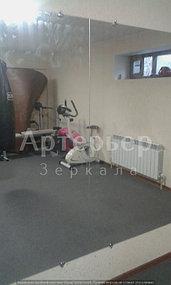 Установка зеркал в спортивные залы и другие помещения от компании Артерьер 2