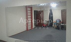 Установка зеркал в спортивные залы и другие помещения от компании Артерьер 1