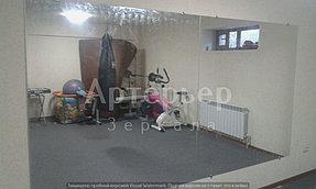 Установка зеркал в спортивные залы и другие помещения от компании Артерьер 3