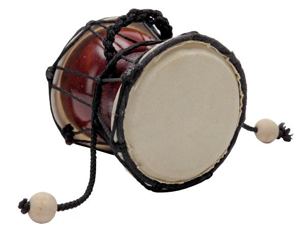 Дамару индийский барабан VESTON FCD-10N + чехол