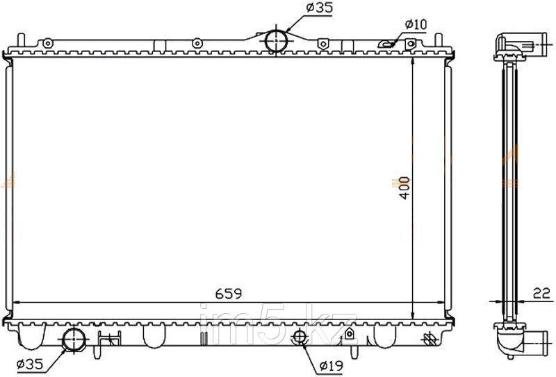 Радиатор VOLVO S40/V40 96-03
