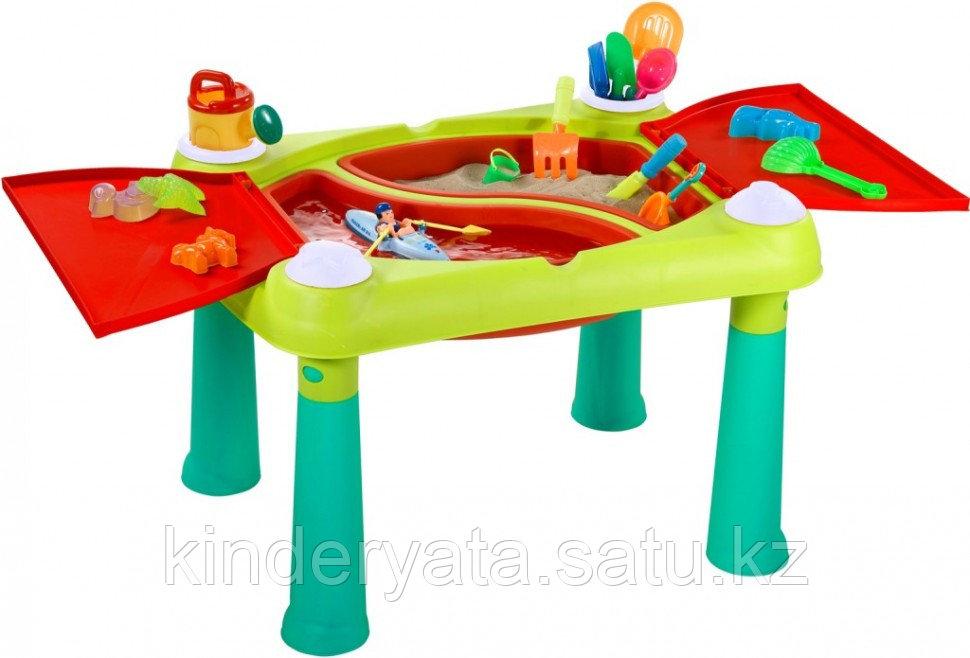 Столик для игры Keter с водой и песком