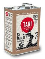 Моторное масло TANI CO Ltd Motor Oil SAE 10W30 API SN/GF-5 (SEMI-SYN) 4Lx6