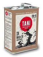 Моторное масло TANI CO Ltd Motor Oil SAE 10W40 API SN/SF (SYN-TECH) 4Lx6