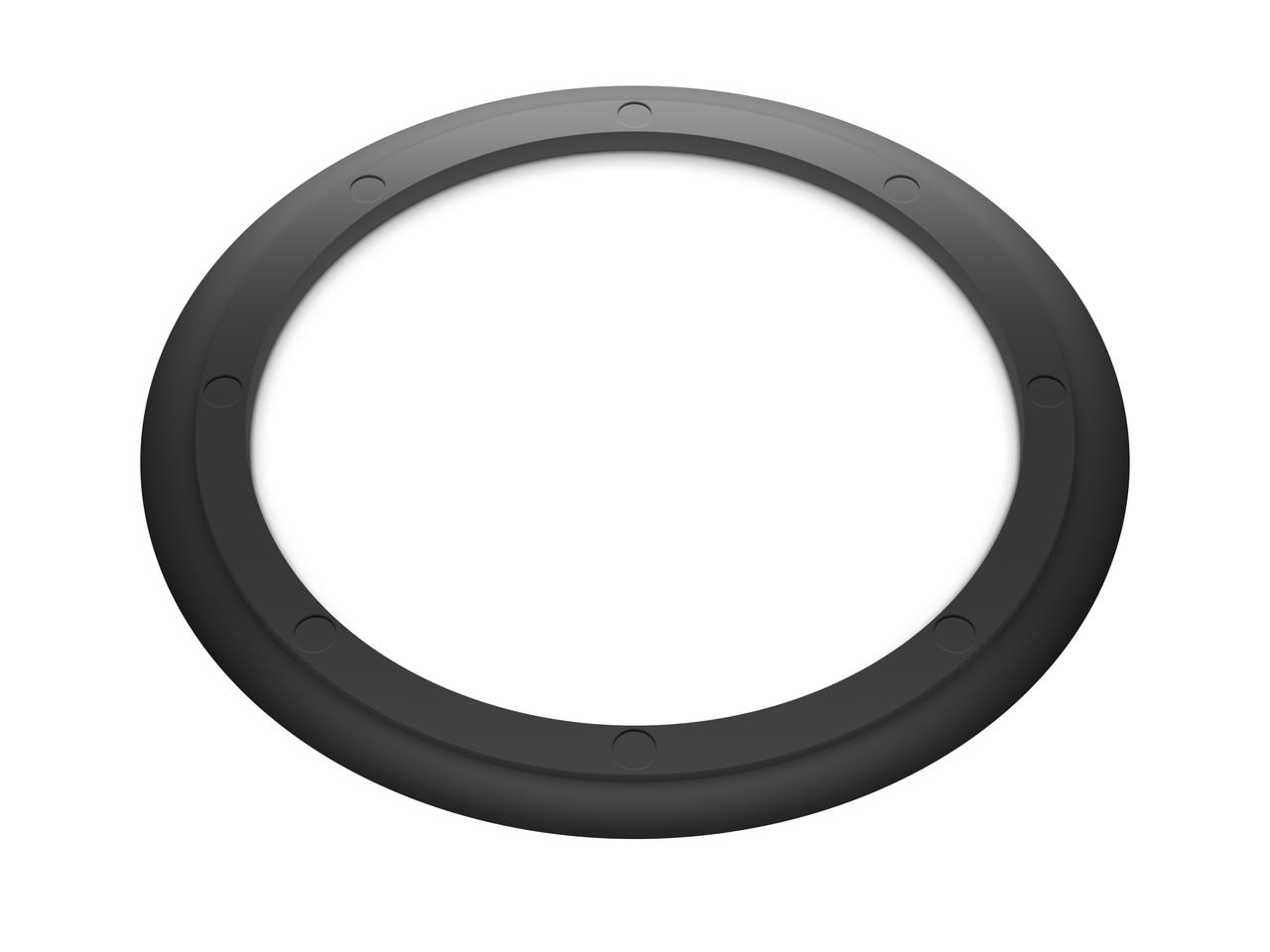 Кольцо резиновое уплотнительное для двустенной трубы D 90мм