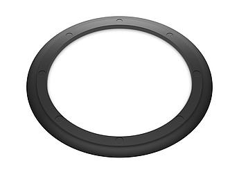 Кольцо резиновое уплотнительное для двустенной трубы D  125мм