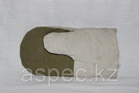 Утепленные комбинированные рукавицы, фото 2