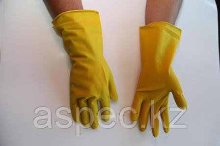 Перчатки хозяйственный латексные
