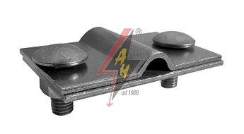 Контрольные (пробные) соединения 2xM8x20, две пластины, B do 40 mm, проволока  Ø 5-12 mm, медь/латунь