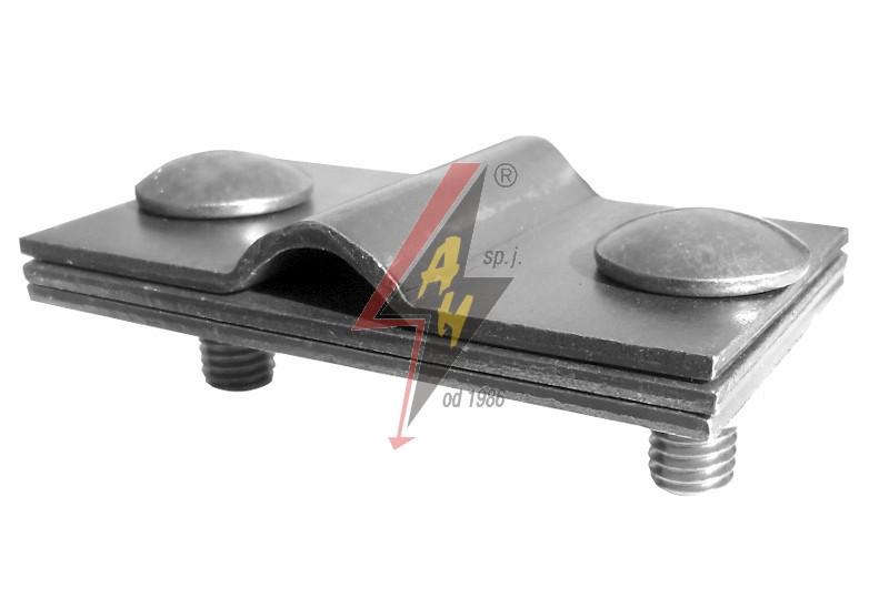 Контрольные (пробные) соединения 2xM8x20, три пластины, B do 40 mm, проволока  Ø 5-12 mm, медь/латунь