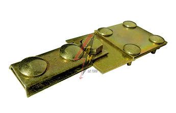 Контрольные (пробные) соединения 4xM6x16, B do 30 mm, проволока  Ø 5-8 mm, медь/латунь