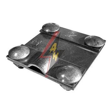 Контрольные (пробные) соединения 4xM8x16, B do 40 mm, проволока  Ø 5-12 mm, медь/латунь