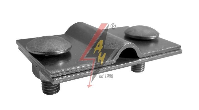 Контрольные (пробные) соединения 2xM8x20, две пластины, B do 40 mm, проволока  Ø 5-12 mm, сталь нерж.
