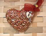Дизайнерская валентинка с кулончиком в подарок, фото 3