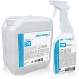 ИНТЕРХИМ 701 Средство  очистки стеклянных и др. гладких поверхностей, с защитным  эффектом