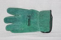 Перчатки спилковые усиленные, фото 1