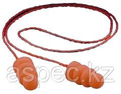 Противошумные вкладыши со шнурком «Спираль» (беруши)