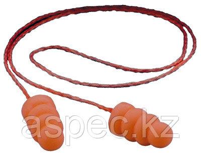 Противошумные вкладыши со шнурком «Спираль» (беруши), фото 2