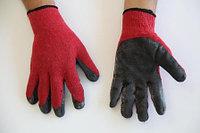 Перчатки с каучковым покрытием