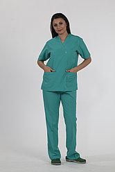 Женский костюм хирургический
