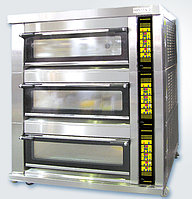 Печи подовые с пароувлажнением и без Sinmag SM-803A(G)