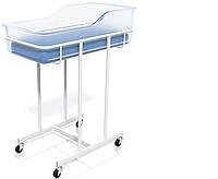 «Кровать для новорожденных (на колесах)» КД-04»