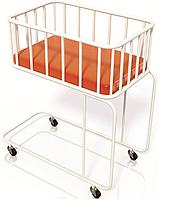 «Кровать для новорожденных (на колесах)» КД-07»