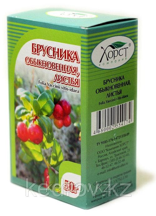 Брусника обыкновенная, листья 50 г