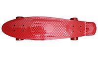 """Пенни борд (Long), Красный 27"""" , фото 1"""
