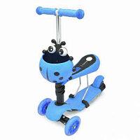 Самокат Scooter Mini (Божья-коровка), синий, фото 1