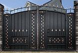 Изготовление любых металлических ворот Алматы, фото 3