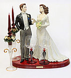 Свадебные фужеры. Италия. Ручная работа, фото 2