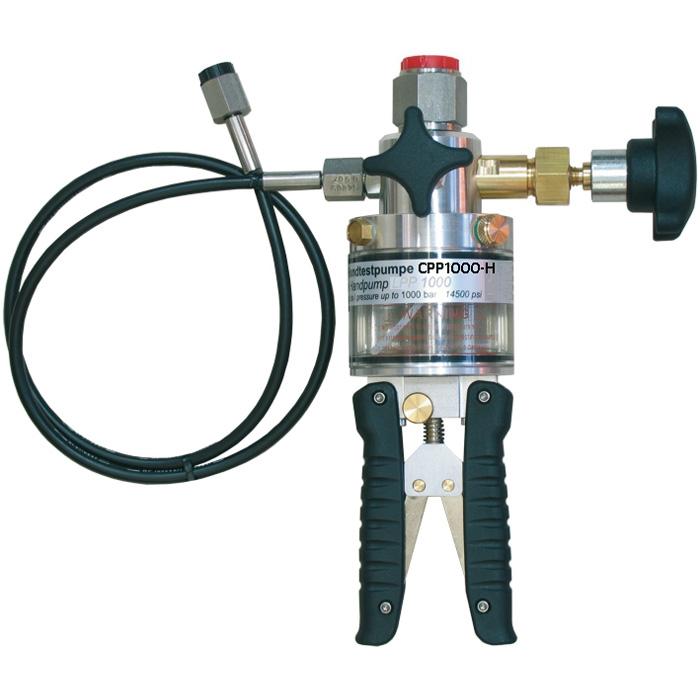 Модели CPP700-H, CPP1000-H ручной гидравлический насос WIKA