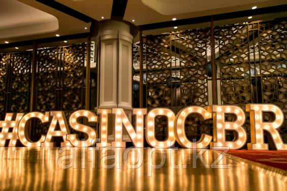 Декоративное светодиодное освещение нового казино в Австралии