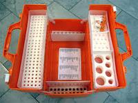 Укладки врача скорой медицинской помощи серии УМСП-01-П (Габаритные размеры, мм: 520х310х390) без вложений