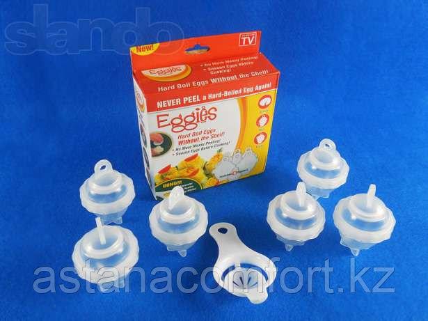 Формы для варки яиц без скорлупы Eggies.