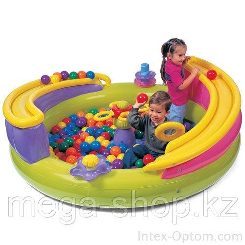 Игровой центр  intex 48658 с шариками