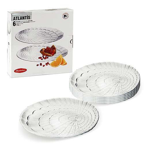 Набор тарелок Pasabahce 19 см Атлантис 6 шт (10234/6)