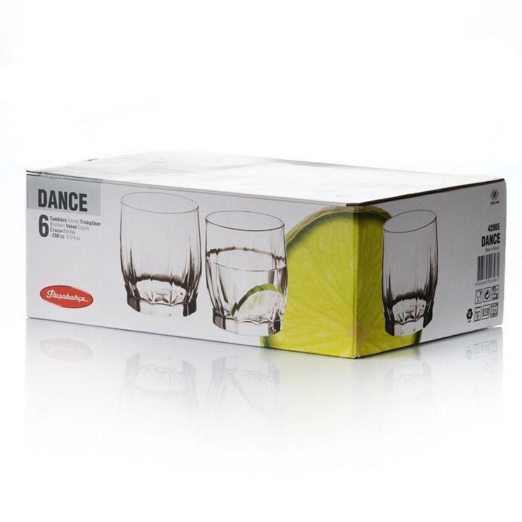 Набор стаканов Pasabahce Dance 6шт. 290 мл. (42865/6)