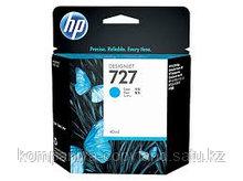 HP B3P19A Cyan Ink Cartridge №727 for DesignJet T1500/T2500/T920, 130 ml