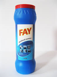 Порошок для уборки «Fay» 500 г в твердой упаковке