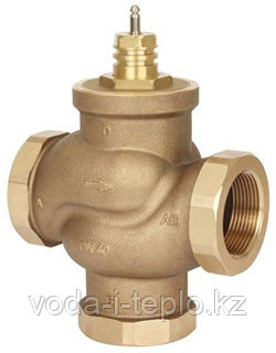 Клапан регулирующий трехходовой типа CV316 RGA  ф25